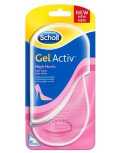 Scholl Solette Gel Activ Tacchi Molto Alti 2 solette Gel Activ per Scarpe con tacchi superiori ai 5.5 cm – numero: 35-40.5