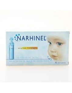 Narhinel Soluzione fisiologica 20 flaconcini da 5 ml