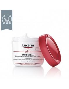 Eucerin pH 5 Soft Cream - Pelle sensibile e secca Vaso da 450 ml