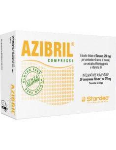 AZIBRIL compresse - Contro la Nausea 20 compresse filmate da 670 mg
