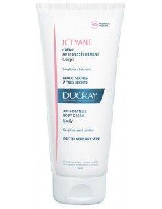 Ducray Ictyane - Crema Corpo Antisecchezza - Pelli secche e molto secche 1 flacone da 200 ml