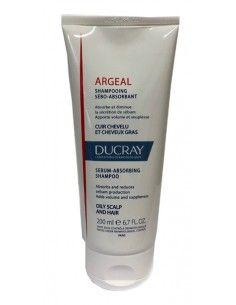 DUCRAY Argeal Shampoo Contro l'eccesso di Sebo 1 Tubo da 200 ml
