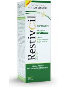 Restivoil Activ Plus Rinforzante - capelli fragili e sfibrati 1 barattolo da 250 ml