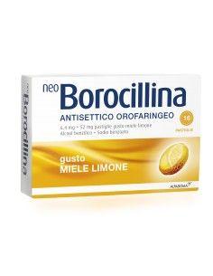 NEO BOROCILLINA ANTISETTICO OROFARINGEO miele e limone