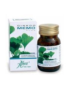 Ginkgo Memo Plus Aboca Flacone da 50 opercoli da 500 mg ciascuno