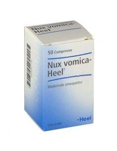 NUX VOMICA Heel Compresse - Medicinale Omeopatico Flacone da 50 compresse