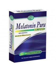 ESI Melatonin Pura Retard - Integratore di Melatonina a rilascio prolungato 90 microtavolette