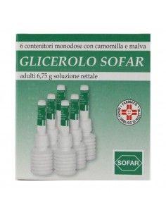 Glicerolo Sofar 6 Contenitori 2,25g