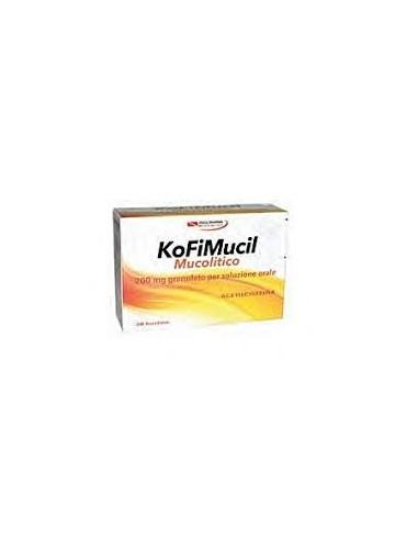 KoFiMucil Mucolitico Bustine 30 bustine