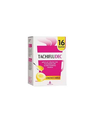 Tachifludec 16 bustine gusto miele e limone
