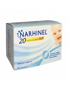 Narhinel ® Ricambi Soft usa e getta Confezione da 20 ricambi Soft usa e getta