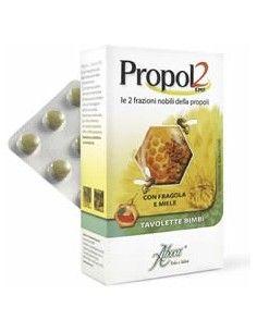 Propol2 EMF Tavolette per Bambini 45 tavolette gusto fragola e miele in blister