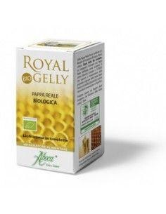Royal Gelly Bio Tavolette - Pappa Reale biologica Liofilizzata Flacone da 40 tavolette da 480 mg ciascuna