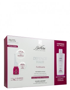 DEFENCE HAIR BIPACK RIDENSIFICANTE 21 FIALE 6 ML + SHAMPOO 200 ML