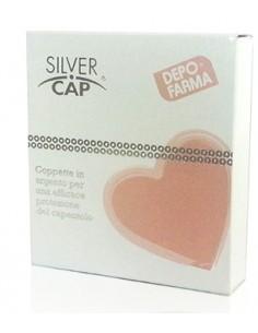 Silver Cap - Coppette argento per ragadi al capezzolo 2 coppette in argento