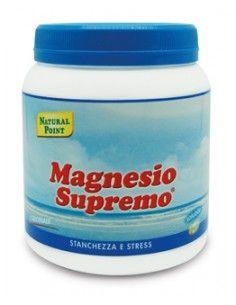 Magnesio Supremo - Integratore di Magnesio Citrato Confezione da 300 grammi di polvere