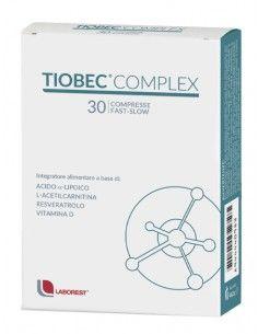 TIOBEC COMPLEX 30 COMPRESSE FAST SLOW