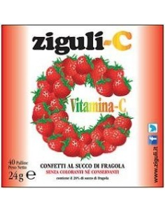 ZIGULI C FRAGOLA 40 CONFETTI 24 G