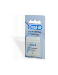 Oral-B Essential Floss - Filo interdentale Filo interdentale cerato 50 metri