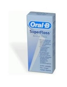 Filo Interdentale Superfloss (ORAL-B) 50 fili interdentali pre-tagliati