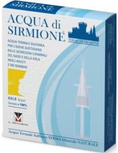 Acqua di sirmione 6 Flaconcini con erogatore
